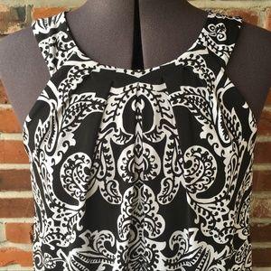 White House Black Market Dress Size 8 Sleeveless